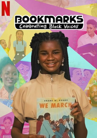 Bookmarks celebrating black voices