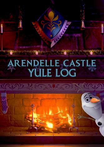 Arendelle Castle Yule Log