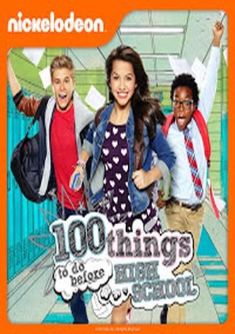 100 cosas que hacer antes de ir al instituto