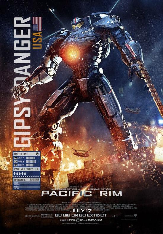 Taquilla USA: Pacific Rim arranca en 3º puesto