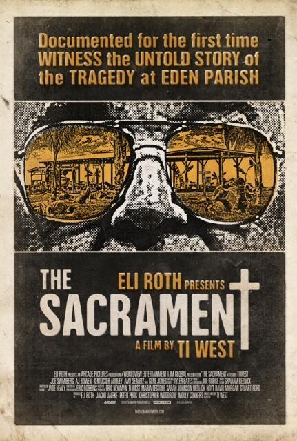 Primer póster de The Sacarment de Ti West