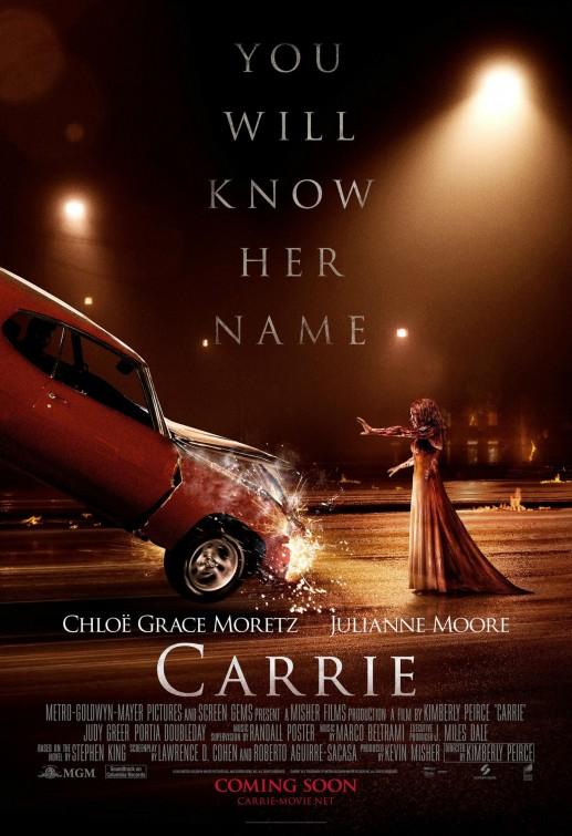 Nuevo póster para Carrie: Conoceras su nombre...