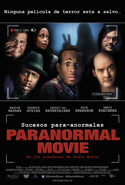 Póster de Paranormal Movie (A Haunted House)