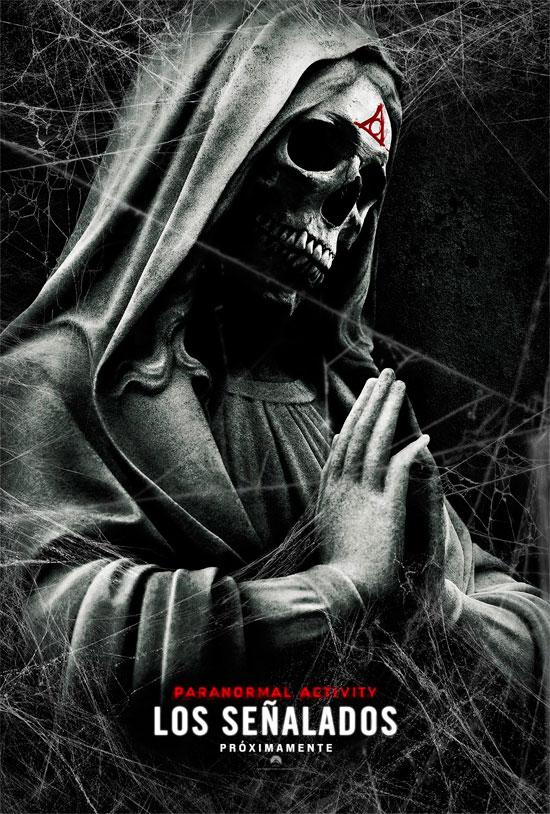 Póster en español de Paranormal Activity: Los Señalados