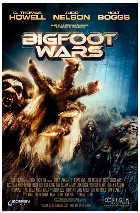 Trailer y póster para Bigfoot Wars, precuela de Boggy Creek
