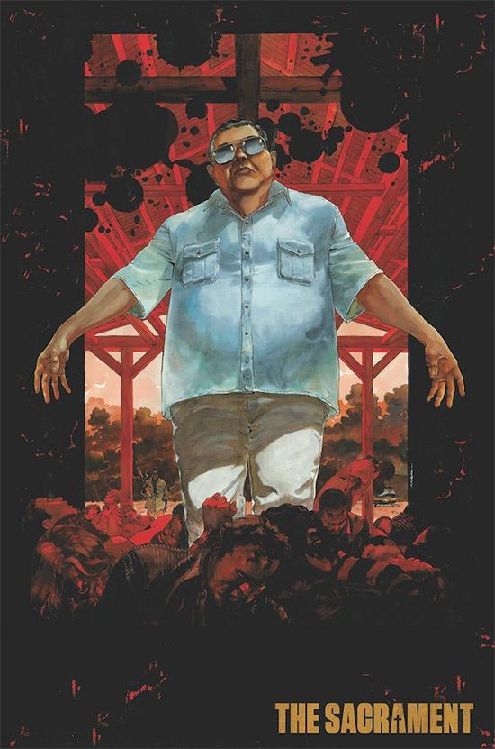 Nuevo póster ilustrado para The Sacrament, de Ti West