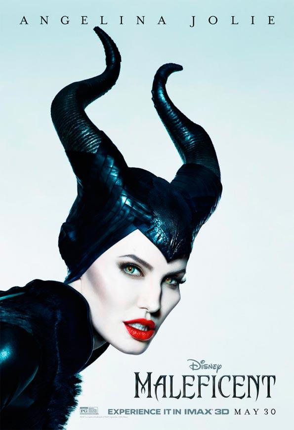 Cartel IMAX para Maléfica, con Angelina Jolie