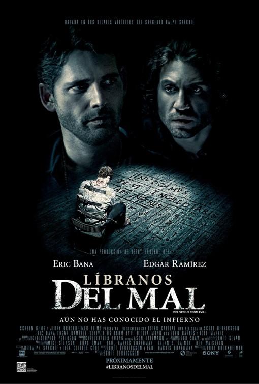 Primer póster en español de Líbranos del Mal