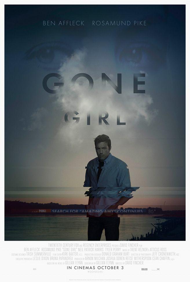 Nuevos pósters para Gone Girl (Perdida)