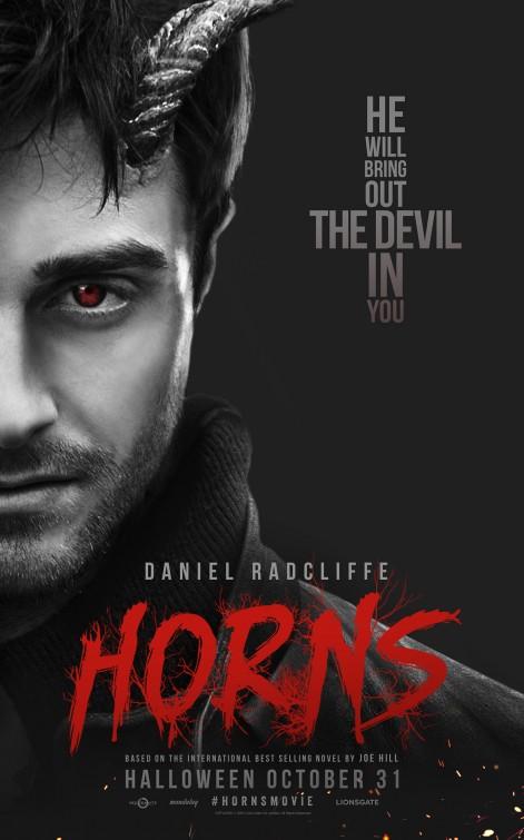 Un par de nuevos carteles de 'Horns (Cuernos)'