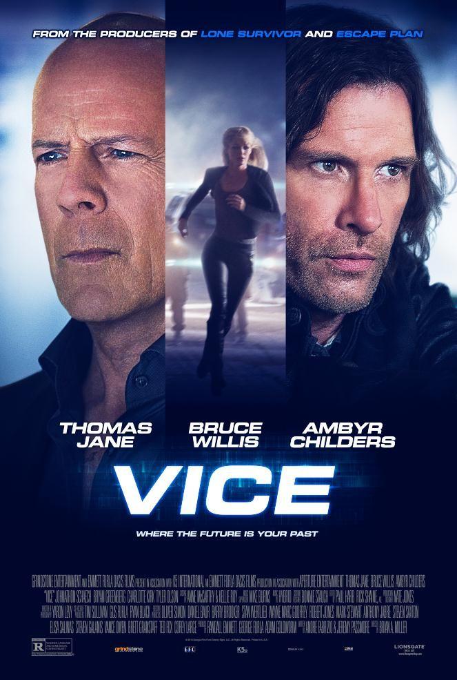 Primer póster de 'Vice', ciencia ficción con Bruce Willis