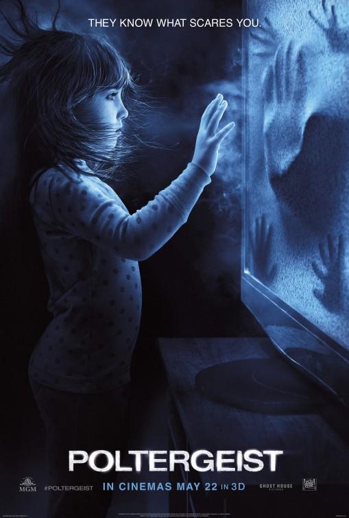 Nuevo cartel del remake de 'Poltergeist'