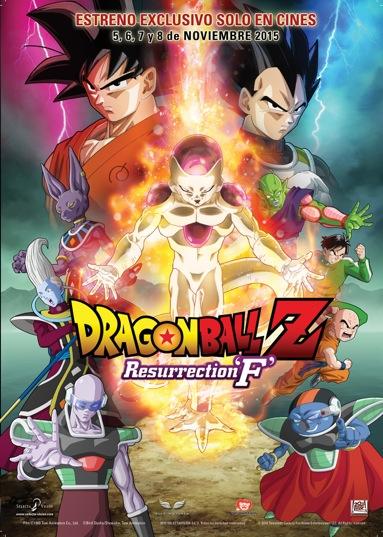 Fecha de estreno para España de 'DragonBall Z Resurrection F'