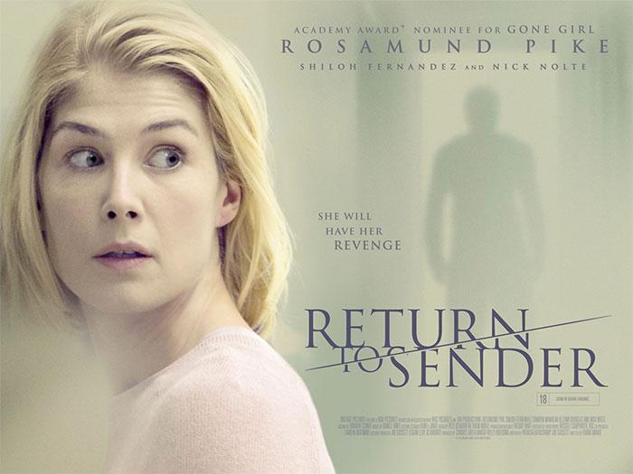 Primer cartel para el thriller  'Return to Sender'