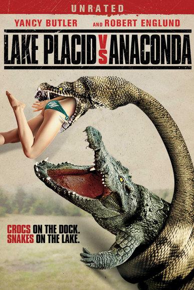 Póster, trailer y fecha de estreno para España de... ¡Mandíbulas vs. Anaconda!