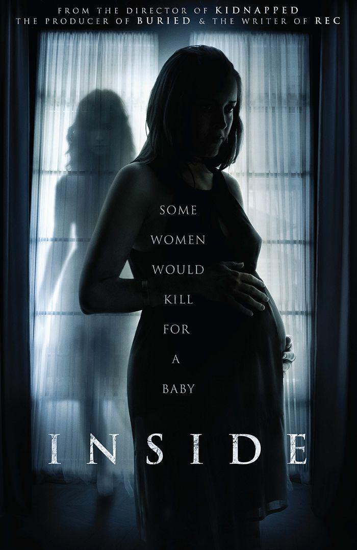 Teaser póster de 'Inside', el remake de 'À l'Intérieur'