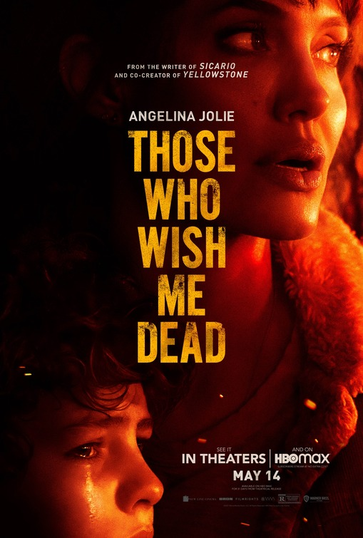 "Primer póster de ""Those Who Wish Me Dead"", protagonizada por Angelina Jolie  - abandomoviez.net"