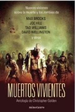 Poster Muertos Vivientes. Antología de Christopher Golden