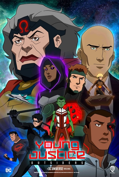 Poster La Joven Liga de la Justicia