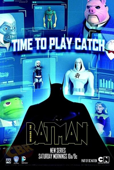 Poster Beware The Batman