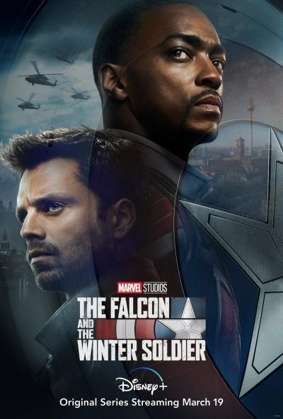 Poster Falcón y el Soldado de Invierno