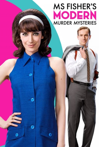 Poster Ms Fisher's Modern Murder Mysteries
