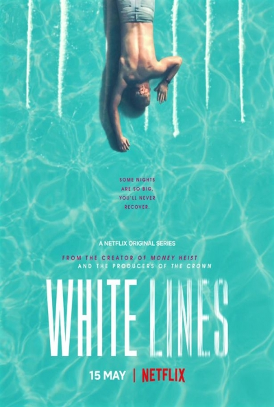 Poster White Lines