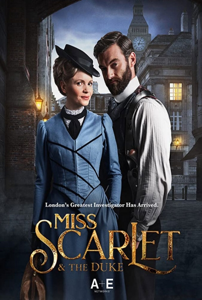 Poster Miss Scarlet and the Duke