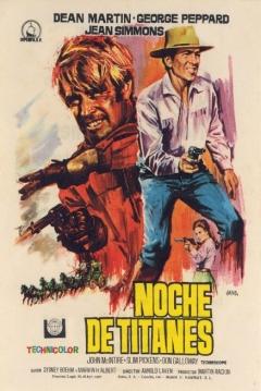 Poster Noche de Titánes
