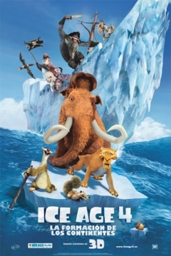 Poster Ice Age 4: La Formación de los Continentes