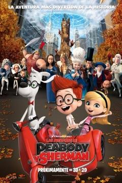 Poster Las Aventuras de Peabody y Sherman