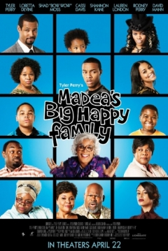 Poster Madea's Big Happy Family