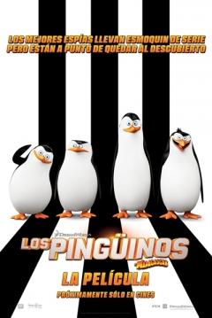 Poster Los Pingüinos de Madagascar