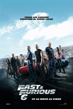 Poster Fast & Furious 6 (A Todo Gas 6)