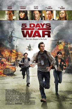 Poster 5 Días de Guerra