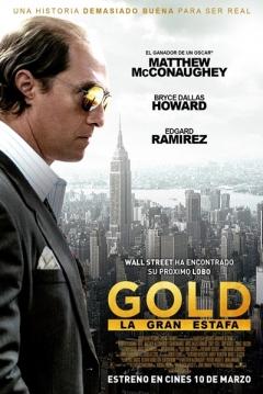 Poster Gold: La Gran Estafa