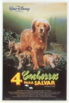Poster 4 Cachorros para Salvar