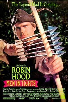 Poster Las Locas, Locas Aventuras de Robin Hood