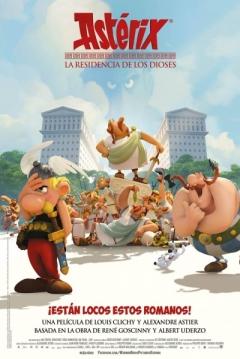 Poster Astérix: La Residencia de los Dioses