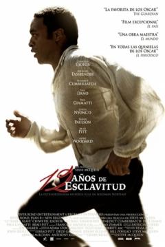 Poster 12 Años de Esclavitud