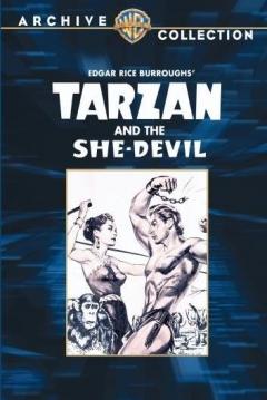 Poster Tarzan y la Mujer Diablo
