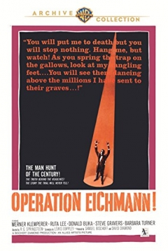 Poster Operation Eichmann