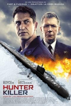 Poster Hunter Killer: Caza en las Profundidades
