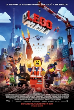 Poster La Lego Película