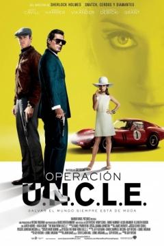Poster Operación U.N.C.L.E.