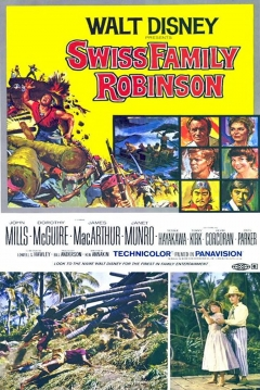 Poster The Swiss Family Robinson