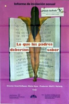 Poster Lo Que Los Padres Deberían Saber