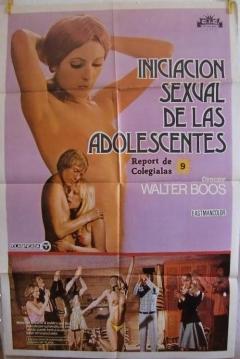 Poster Iniciación Sexual de las Adolescentes