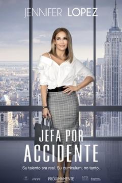 Poster Jefa por accidente
