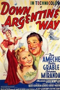 Poster Serenata Argentina